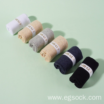 Cotton dress socks for women-98M6
